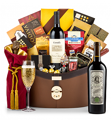 Premium Wine Baskets: Bond St. Eden 2013 Windsor Luxury Gift Basket