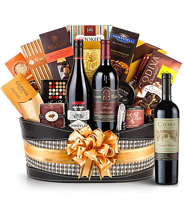 Premium Wine Baskets: Caymus Special Selection Cabernet Sauvignon 2010 -Martha's Vineyard Luxury Wine Basket