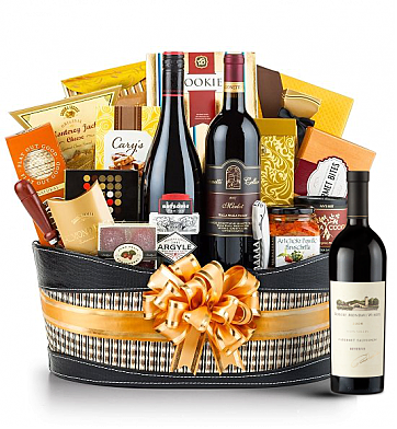 Premium Wine Baskets: Robert Mondavi Reserve Cabernet Sauvignon 2006 Wine Basket-Martha's Vineyard