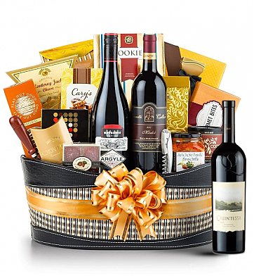 Premium Wine Baskets: Quintessa Meritage 2009 Red - Martha's Vineyard Luxury Wine Basket
