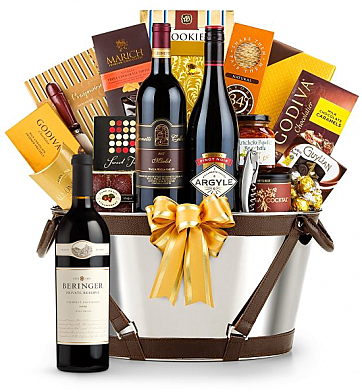 Premium Wine Baskets: Beringer Private Reserve Cabernet Sauvignon 2009 - Martha's Vineyard Luxury Wine Basket