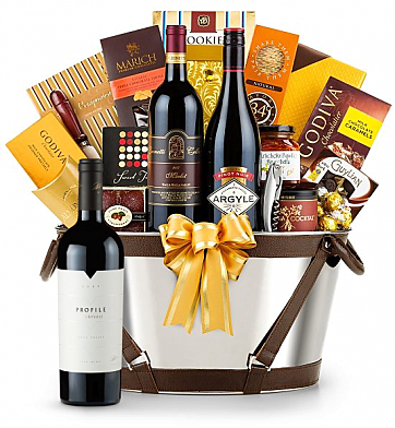 Premium Wine Baskets: Merryvale Profile 2009 Wine Basket - Martha's Vineyard