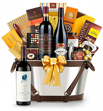Premium Wine Baskets: Opus One 2010 -Martha's Vineyard Luxury Wine Basket