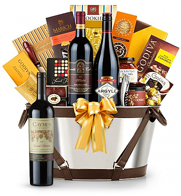 Premium Wine Baskets: Caymus Special Selection Cabernet Sauvignon 2009 -Martha's Vineyard Luxury Wine Basket