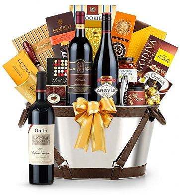 Premium Wine Baskets: Groth Reserve Cabernet Sauvignon 2009 - Martha's Vineyard Luxury Wine Basket