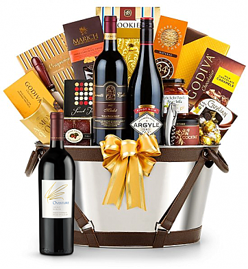 Premium Wine Baskets: Opus One Overture - Martha's Vineyard Luxury Wine Basket