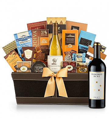 Premium Wine Baskets: Hundred Acre Ark Vineyard Cabernet Sauvignon 2009 - Cape Cod Luxury Wine Basket