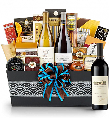 Premium Wine Baskets: Robert Mondavi Reserve 2006 Cabernet Sauvignon - Cape Cod Luxury Wine Basket