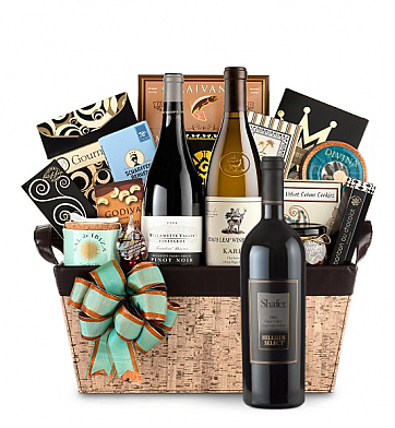 Premium Wine Baskets: Shafer Hillside Select Cabernet Sauvignon 2008 - Cape Cod Luxury Wine Basket