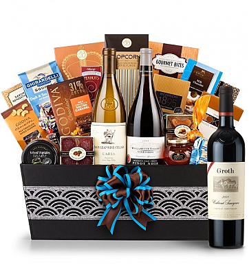 Premium Wine Baskets: Groth Reserve Cabernet Sauvignon Wine Basket - Cape Cod