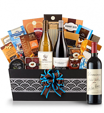 Premium Wine Baskets: Dominus Estate 2008  - Cape Cod Luxury Wine Basket