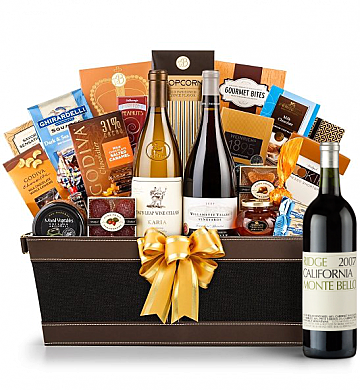 Premium Wine Baskets: Ridge Monte Bello Wine Basket - Cape Cod
