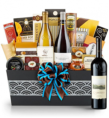 Premium Wine Baskets: Quintessa Meritage Red 2009 - Cape Cod Luxury Wine Basket