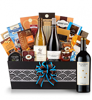 Premium Wine Baskets: Hundred Acre Ark Vineyard Cabernet Sauvignon 2010 - Cape Cod Luxury Wine Basket