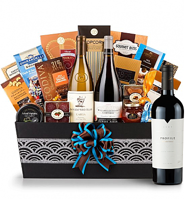 Premium Wine Baskets: Merryvale Profile 2009 Wine Basket - Cape Cod
