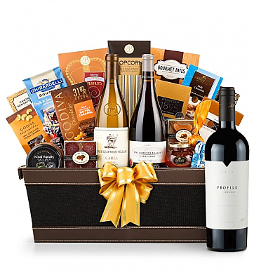 Premium Wine Baskets: Merryvale Profile 2010 - Cape Cod Luxury Wine Basket