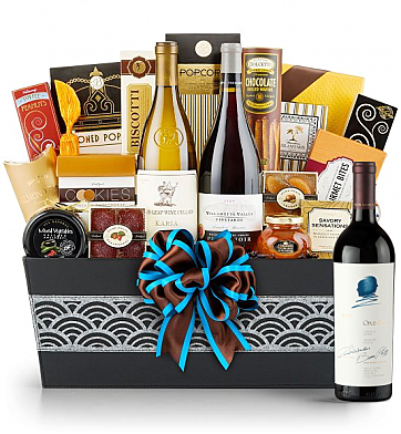 Premium Wine Baskets: Opus One 2010 - Cape Cod Luxury Wine Basket