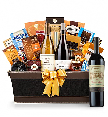 Premium Wine Baskets: Caymus Special Selection Cabernet Sauvignon 2009  - Cape Cod Luxury Wine Basket