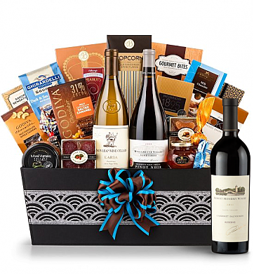 Premium Wine Baskets: Robert Mondavi Reserve 2011 Cabernet Sauvignon - Cape Cod Luxury Wine Basket