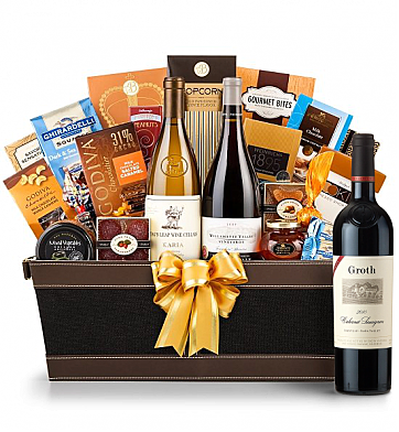 Premium Wine Baskets: Groth Reserve Cabernet Sauvignon 2009 - Cape Cod Luxury Wine Basket