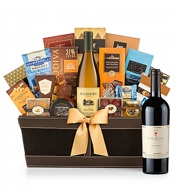 Premium Wine Baskets: Peter Michael Les Pavots 2012 - Cape Cod Luxury Wine Basket