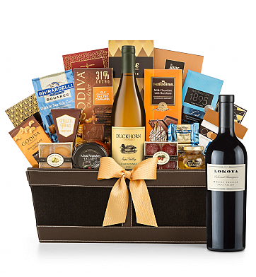 Premium Wine Baskets: Lokoya Mt. Veeder Cabernet Sauvignon 2012 - Cape Cod Luxury Wine Basket