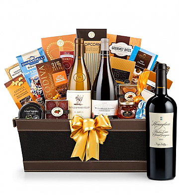 Premium Wine Baskets: Hourglass Blueline Estate Cabernet Sauvignon 2013 - Cape Cod Luxury Wine Basket