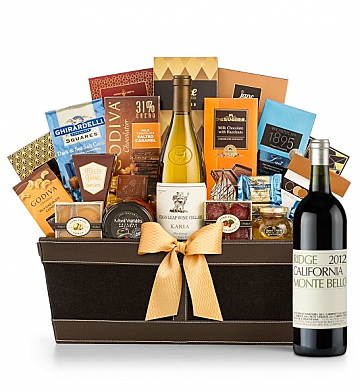 Premium Wine Baskets: Ridge Monte Bello 2012 - Cape Cod Luxury Wine Basket