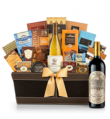 Premium Wine Baskets: Far Niente Estate Bottled Cabernet Sauvignon 2012 - Cape Cod Luxury Wine Basket