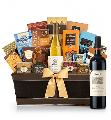 Premium Wine Baskets: Groth Reserve Luxury Collection