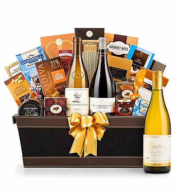 Premium Wine Baskets: Kistler Trenton Roadhouse Chardonnay Sonoma Coast 2013 - Cape Cod Luxury Wine Basket