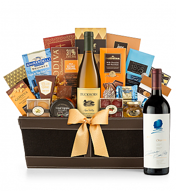 Premium Wine Baskets: Opus One 2013 - Cape Cod Luxury Wine Basket