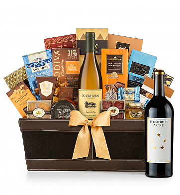 Premium Wine Baskets: Hundred Acre Few And Far Between Cabernet Sauvignon 2013 - Cape Cod Luxury Wine Basket