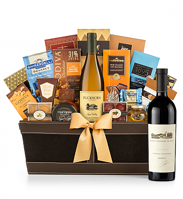 Premium Wine Baskets: Robert Mondavi Reserve Cabernet Sauvignon 2013 - Cape Cod Luxury Wine Basket