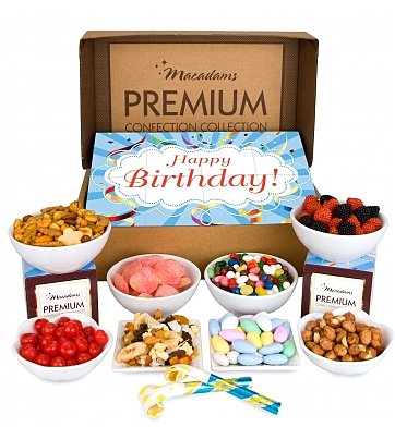 Chocolate & Sweet Baskets: Macadams' Birthday Collection