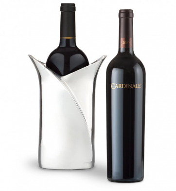 Wine Accessories & Decanters: Cardinale Cabernet Sauvignon with Luxury Wine Holder