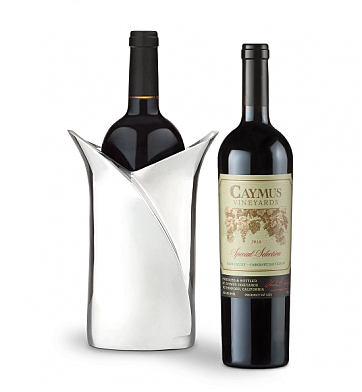 Wine Accessories & Decanters: Caymus Special Selection with Luxury Wine Holder