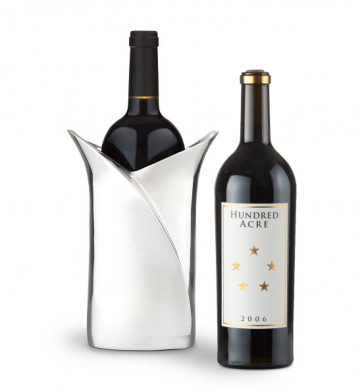 Wine Accessories & Decanters: Hundred Acre Cabernet Sauvignon with Luxury Wine Holder