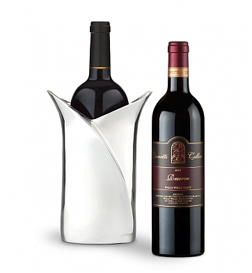 Wine Accessories & Decanters: Leonetti Reserve 2006  with Luxury Wine Holder