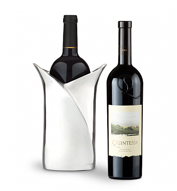 Wine Accessories & Decanters: Quintessa Meritage Red with Luxury Wine Holder