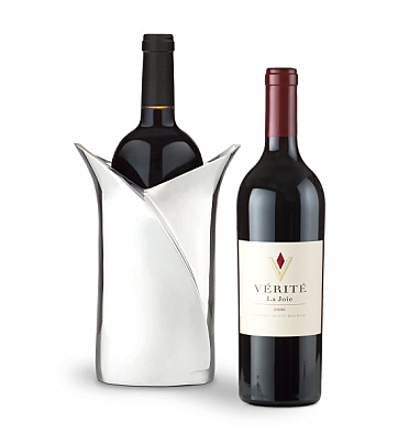 Wine Accessories & Decanters: Verite La Joie 2006 Cabernet Sauvignon with Luxury Wine Holder