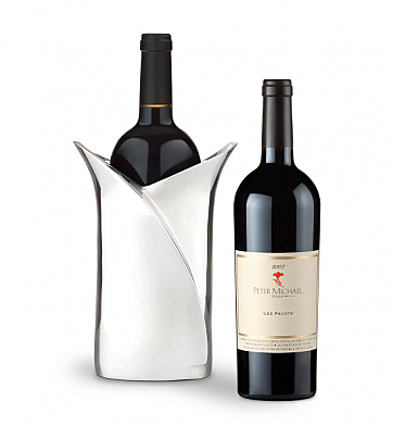 Wine Accessories & Decanters: Peter Michael 2007 with Luxury Wine Holder