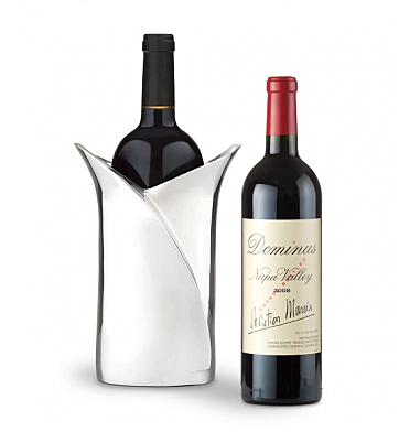 Wine Accessories & Decanters: Dominus Estate 2008 with Luxury Wine Holder