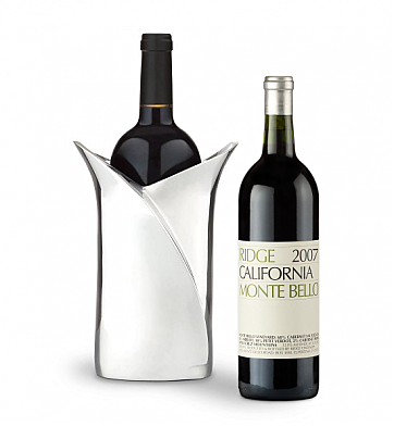 Wine Accessories & Decanters: Ridge Monte Bello 2007 with Luxury Wine Holder