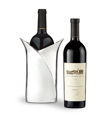 Wine Accessories & Decanters: Robert Mondavi Reserve 2009 Cabernet Sauvignon with Luxury Wine Holder