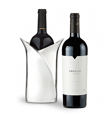 Wine Accessories & Decanters: Merryvale Profile 2010 with Luxury Wine Holder
