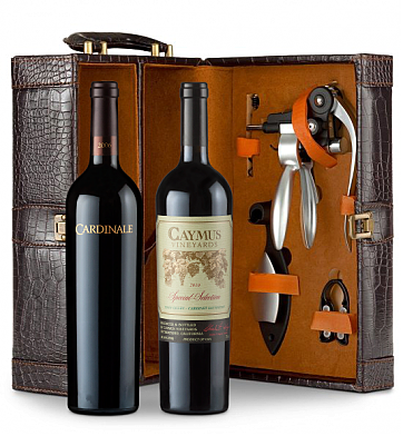Wine Totes & Carriers: Caymus Special Selection & Cardinale Connoisseur's Collection