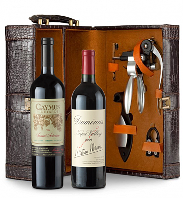 Wine Totes & Carriers: Caymus Special Selection & Dominus Estate Connoisseur's Collection