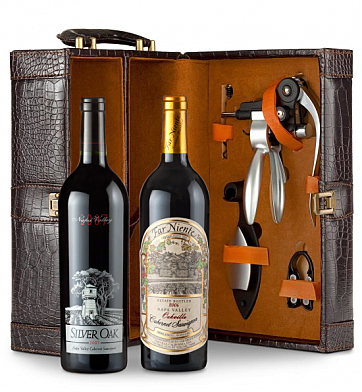Wine Totes & Carriers: Silver Oak & Far Niente Cabernet Sauvignon Connoisseur's Collection