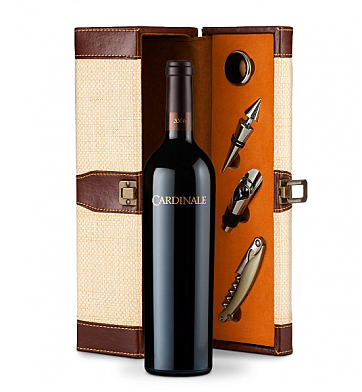 Wine Totes & Carriers: Cardinale Cabernet Sauvignon 2006 Wine Steward Luxury Caddy